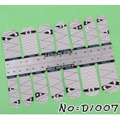 Stickers Nail Patch Ongles Autocollant - Momie - Nail Art