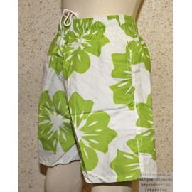 Short Maillot De Bain Surf Hawa�en Enfants Gar�on Fashion Fleurs Pierre-Cedric !! Taille 4ans Au 18ans-100%Polyester ! Expedition En 24/48hrs