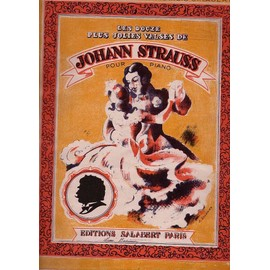 les douze plus jolies valses de johann strauss ( pour piano )
