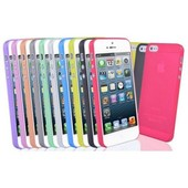 Coque Etui Housse En Silicone Ultra Slim 0.5mm Pour Apple Iphone 4/4s/5/5s/5c