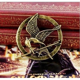 Pin�S Broche Hunger Games Geai Moqueur Couleur Bronze