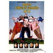 Mes Chers Amis N�2 - Mario Monicelli - Philippe Noiret - Ugo Tognazzi - Affiche De Cin�ma Pli�e 120x160 Cm