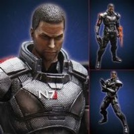 Mass Effect 3 - Play Arts [Kai] Commander Shepard