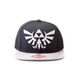 Zelda - Casquette Gris Noir Snapback