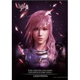 Final Fantasy Xiii-2 - Wall Scroll Poster Lightning