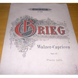 Grieg - Walzer Capricen - Opus 37 - Piano Solo