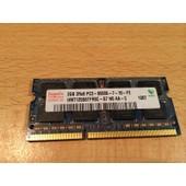 MEMOIRE PC PORTABLE DD3 / 2GB 1Rx8 PC3 - 8500S