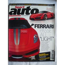 Sport Auto 548 Ferrari Passe Au Light
