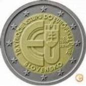 2 Euro Slovaquie 2014 Adhesion A L`Ue