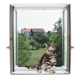 Filet De Protection 4 X 3 M, Transparent