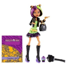 Monster High - Clawdeen Wolf Et Son Journal