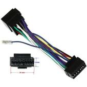Aerzetix - Adaptateur E6 Iso C�ble Convertisseur Faisceau Fiche Pour Autoradio Sony Cdx-R 3300 3350 6550 6750 Cdx-Ra 550 650 Cdx-S 22 1000 2000 2010 2020 2050 2200 2250 Md-C7900 Mdx-C 150 R C T V