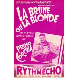 """PRIMO CORCHIA - """"LA BRUNE OU LA BLONDE"""" - TANGO"""