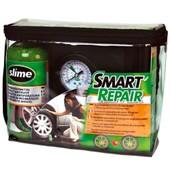 Slime Smart Repair - Kit Slime 473ml Et Compresseur Pneumatique - Voiture