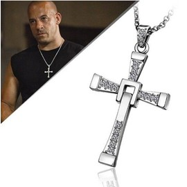 Collier Pendentif Croix Crucifix Fast And Furious 6 Vin Diesel Dominic Toretto