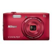 Nikon Coolpix S3600 Compact 20.1 Mpix Rouge