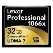 LEXAR COMPACT FLASH UMDA7 PRO 1066X 32GB