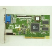 ATI 109-49300-00 4MB AGP VGA Video Card Rage IIC
