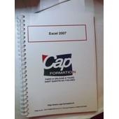 Excel 2007 de CAP Formation