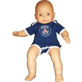 Body B�b� Psg - Collection Officielle Paris Saint Germain - Ligue 1 - Blason Maillot Football - Taille B�b� Gar�on