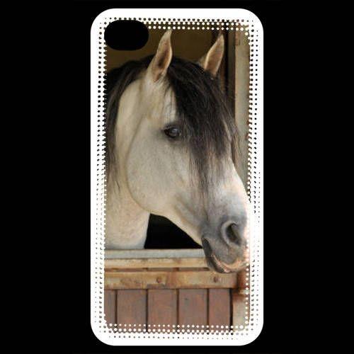 Coque iPhone 4 / iPhone 4S Cheval 8
