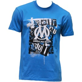 T-Shirt Om - Collection Officielle Olympique De Marseille - Blason Maillot Football Ligue 1 - Taille Enfant Gar�on