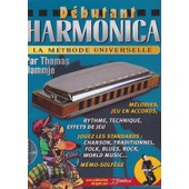 Pack - D�butant Harmonica (+ 1 Cd) M�thode + 2 Harmonicas Hartmann - Hammje Thomas - Rebillard