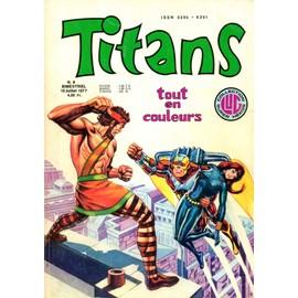 Titans N� 9 De Juillet 1977