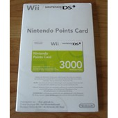 Nintendo Points Card (3000 Points)
