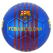 Ballon Barca - Collection Officielle Fc Barcelone - Football Barcelona - Blason Maillot - Taille 5