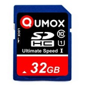 QUMOX SD HC 32 Go GB SDHC Class 10 UHS-I Secure Digital Carte M�moire HighSpeed Write Speed 40MB/s read speed upto 80MB/s