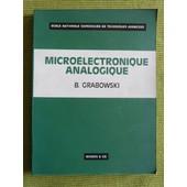 Micro�lectronique Analogique de Bogdan Grabowski