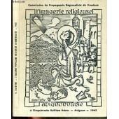 Catalogue De L'imagerie Populaire Religieuse Avignonnaise / Commission De Propagande Regionaliste De Vaucluse. de sylvain gagniere