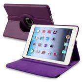INSTEN� Housse �tui Coque Pochette support 360� degr�s pour Apple iPad Mini 1/2/3 (Violet)