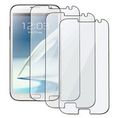Lot 3x Film Ecran Protecteur Protection Lcd Pour Samsung Galaxy Note 2 Ii N7100
