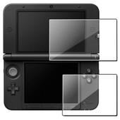 Insten� Lot De 2x Films De Protection Protecteur D'�cran Sup�rieur & Inf�rieur Transparent Pour Console De Jeux Nintendo 3ds Xl