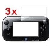 Insten� Lot De 3 Films De Protection Protecteur D'�cran Transparent Pour Manette De Jeu Gamepad Game Pad Tablette Mablette Nintendo Wii U (Wiiu)