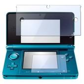 Insten� Film De Protection Protecteur D'�cran Sup�rieur & Inf�rieur Transparent Pour Console De Jeux Nintendo 3ds