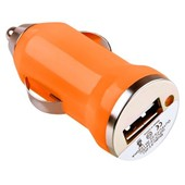 Universel Chargeur Voiture Allume Cigare Orange Pour Samsung S S2 S3 S4 Note 2 3 Iphone 3gs 4 4s 5 5s 5c Blackberry Nokia Lg Htc