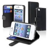 Insten� Design Portefeuille Housse �tui Coque Pochette Pour Iphone 4 4g 4gs 4s,Noir