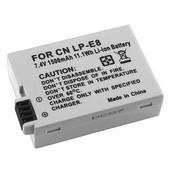 Insten� Batterie De Remplacement Lp-E8 Pour Canon Eos 550d/600d/Rebel T3i/Kiss X5/650d/Rebel T4i/Kiss X6i/Kiss X4/Rebel T2i