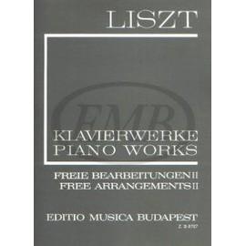 klavierwerke freie bearbeitungen II - piano works free arrangements II