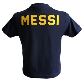 T-Shirt Lionel Messi - Collection Officielle Fc Barcelone - Blason Maillot Barca - Fc Barcelona - Tee Shirt Mode Football Adulte Homme