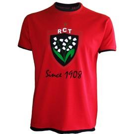 7c1d1c3b01 T-Shirt Rct Toulon - Collection Officielle Rugby Club Toulonnais - Top 14 -  Blason