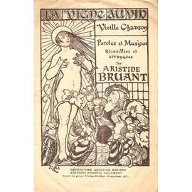 ultra rare partition d'epoque LA VIGNE AU VIN d'ARISTIDE BRUANT , cover sexy