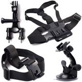 XCSOURCE� ensemble Kit 8 en 1 fixation sur Guidon + ventouse + ceinture pectorale (Harnais de poitrine) + Serre-t�te + 2 x joint + 2 x Vis pour GoPro Hero 1 2 3 OS57