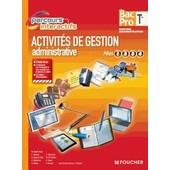 Activit�s De Gestion Administrative P�les 1, 2, 3 Et 4 Tle Bac Pro Gestion Administrative de J. Chapey