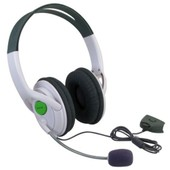 Insten� Casque Audio St�r�o Filaire Avec Microphone Pour Microsoft Xbox 360 Xbox360 Slim