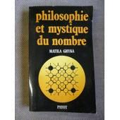 Philosophie Et Mystique Du Nombre de Ghyka Matila