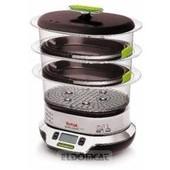 Tefal VS400333 VitaCuisine Compact - Cuiseur vapeur 2000 W avec livre de recettes